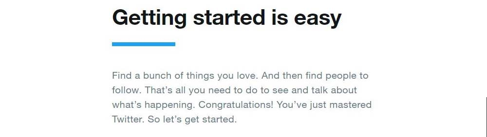 Instructions on how to start using Twitter: https://about.twitter.com/en_us/lets-go-twitter.html