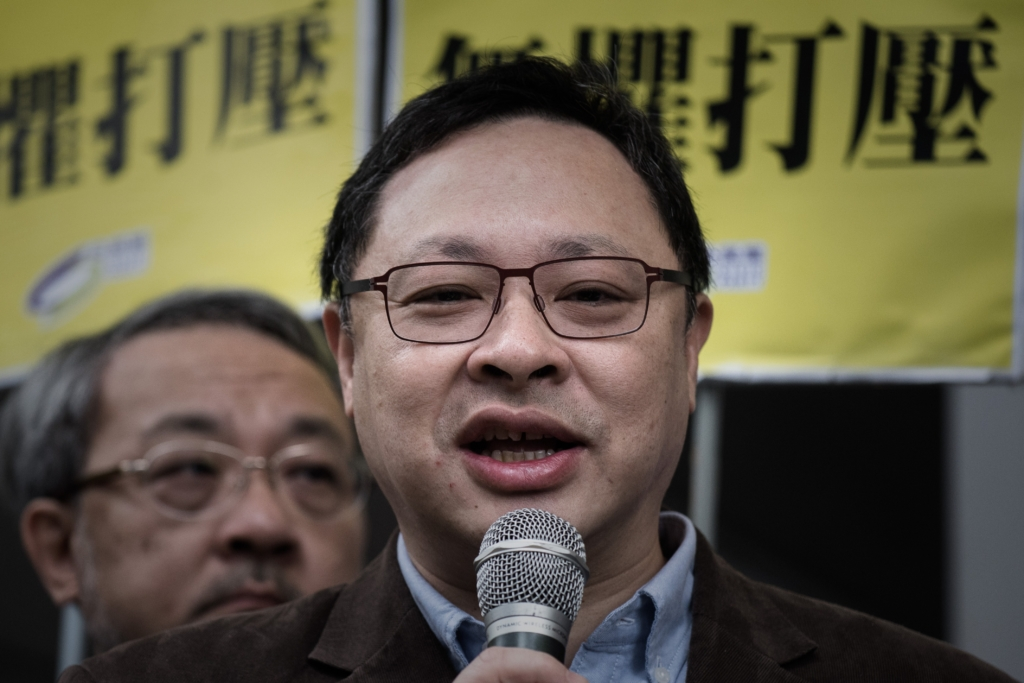 Benny Tai (Philippe Lopez/AFP/Getty Images)