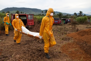 The World Health Organization has confirmed more than 5,200 Ebola cases in Sierra Leone alone ©AFP/Getty Images.