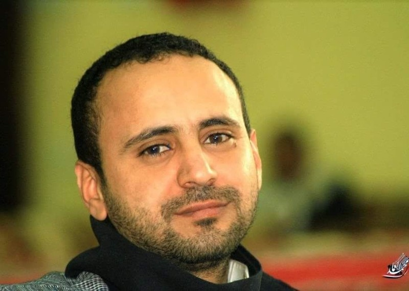News editor Abdelkhaleq Amran is one of many critics, journalists and activists who have been arrested and imprisoned without charge or trial by the Huthi armed group, which controls much of Yemen. © Private