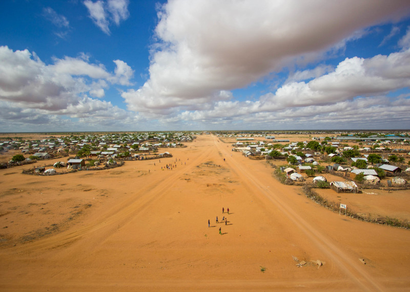 The Dadaab refugee camp in Kenya was able to stay open after a global campaign from Amnesty International and others. Credit: Film Aid.