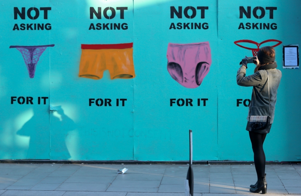 Ireland is just one of 12 European countries with laws that define rape as sex without consent. Photo: Paul Faith/AFP/Getty Images.