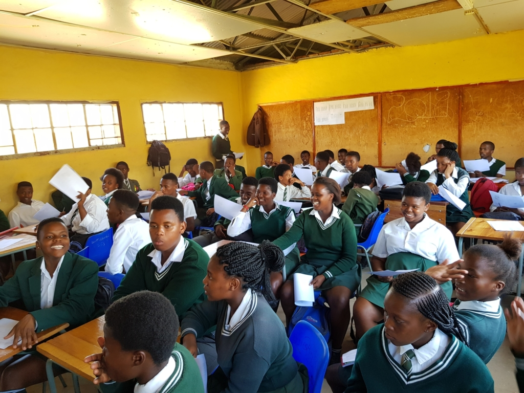 Disadvantaged children from South Africa will now be able to get the education they deserve. Photo: Amnesty International.
