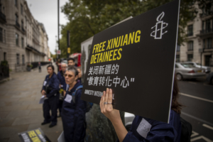Photo gallery: Free Xinjiang Detainees petition handover events around the world.