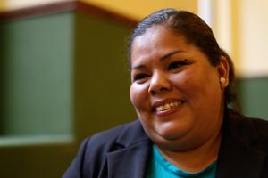 Claudia Medina a été torturée et agressée sexuellement par des fusiliers marins au Mexique. ©Amnesty International
