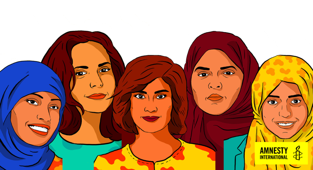 Amnesty International will continue to stand with women human rights defenders in Saudi Arabia. Credit: Amnesty International.